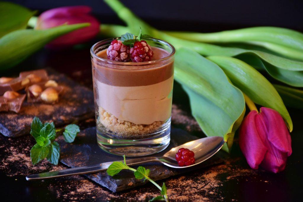 verrine chocolat-praline